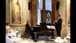 Mallorca (Barcarola) for clarinet and piano - I. Albéniz