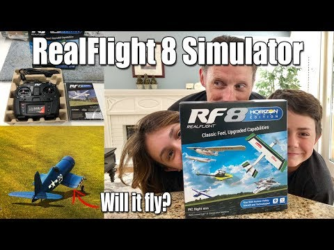 From the Bench: RealFlight 8 Horizon Hobby Edition -- Review