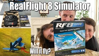 From the Bench: RealFlight 8 Horizon Hobby Edition -- Review, Game Play, & Fun!