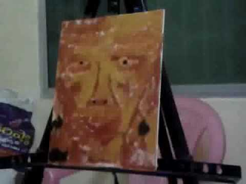 ROCK CANYON Painting Portraits Acrylic Flow Modern