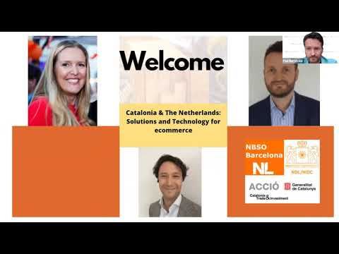Digital meetup Catalonia – The Netherlands  solutions and technology for ecommerce foto de portada