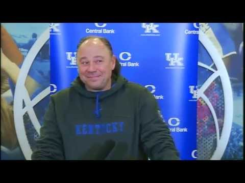 Kentucky Wildcats TV: Coach Rohrssen Press Conference - Pre-Georgetown College