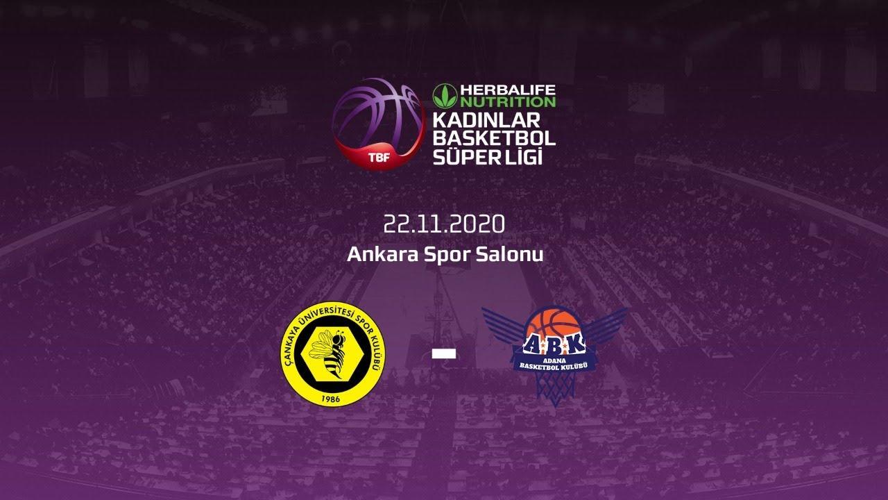Çankaya Üniversitesi – Büyükşehir Belediyesi Adana Basketbol Herbalife Nutrition KBSL 9.Hafta