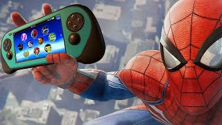 Spider-Man For PS4 Has A Fake Xbox and Vita in It - Up At Noon Live!