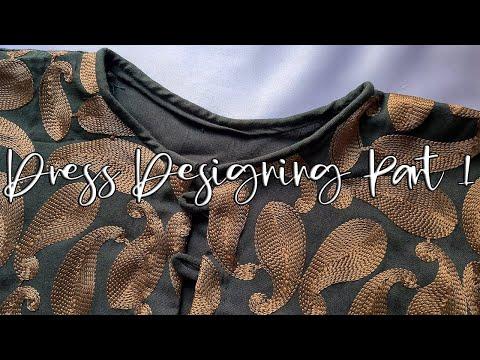 4K Dress Designing Vlog part 1 | Asia Sui Dhaaga