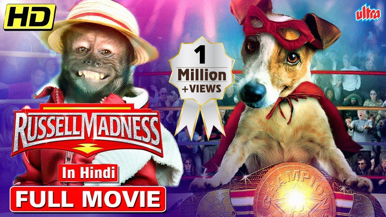 Russell Madness FULL DOG MOVIE - IN HINDI - HOLLYWOOD HINDI LATEST KIDS MOVIE 2021