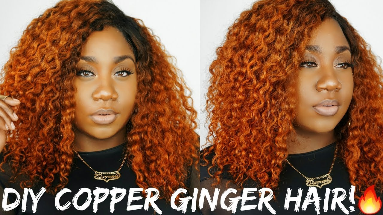 hot fiyah diy ginger orange