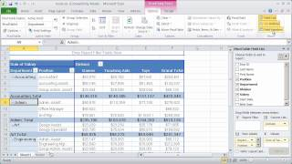 Working with Pivot Tables in Excel 2010 - Part 3 thumbnail