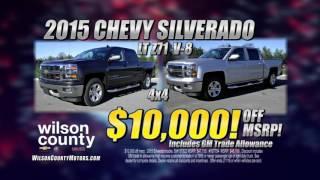 Best Chevrolet Silverado Deals  at Wilson County Chevrolet off I-40 minutes from Nashville, TN