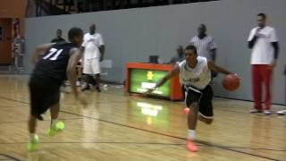 Xavier Rathan Mayes 2011 CROSSOVER OF THE YEAR at the John Lucas Midwest Camp