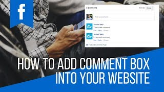 how to add facebook comment box to website
