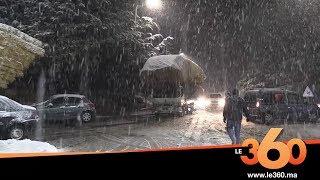 Le360.ma • الثلوج تقطع الطريق بإفران ووزارة التجهيز تخصص كاسحات الثلوج لفتح الطريق