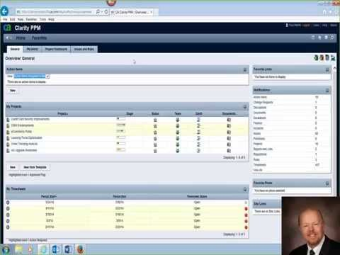 Project Management Clarity PPM v13 Demo Series 1/5