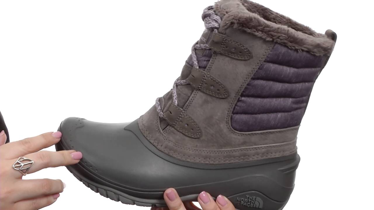 The North Face Shellista 2 Shorty Faux Fur Waterproof Suede Boot HvlYI