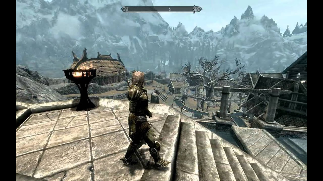 Skyrim - female walk & run animation