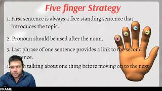 PTE Reading- RE-ORDER PARAGRAPH MADE EASY (Five Finger Strategy)