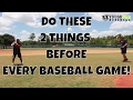 Do These 2 Things Before Every Baseball Game! - Hand-Eye Coordination Drills