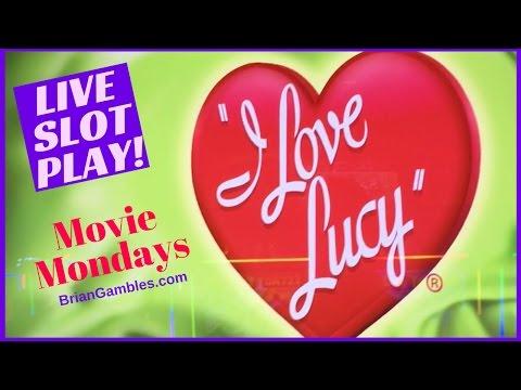 I LOVE LUCY Slot Machine W/ Walking Dead + Ellen ✦TV/MOVIE MONDAYS✦ Live Play Slots / Pokies