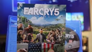 FARCRY 5 Unboxing For PS4 Pro