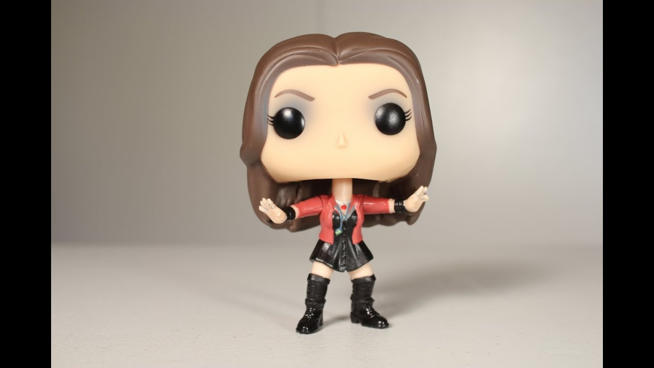 Avengers Age Of Ultron Scarlet Witch Funko Pop Review