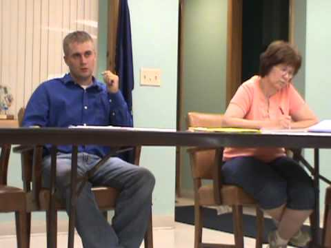 Silver Lake Township Meeting-- 8-6-12