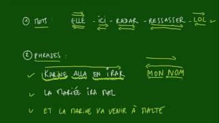 Logique - MOTS - Méthode n°9 - Palindromes
