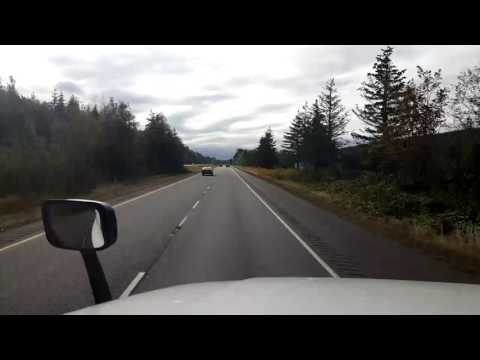 Bigrigtravels Live! Blaine,  Washington to Burlington Interstate 5 August 30, 2016