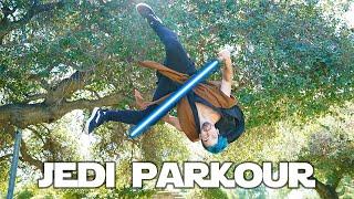 Jedi VS Parkour In Real Life (Star Wars)