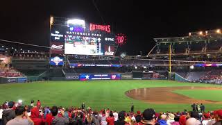 Washington Nationals World Series Game 7 Win Crowd Reaction! PART 1!