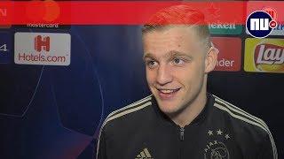 Donny van de Beek na winst Ajax op Real Madrid: 'Dacht dat ik droomde'