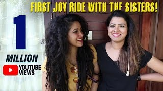 First JoyRide With The Sisters!...