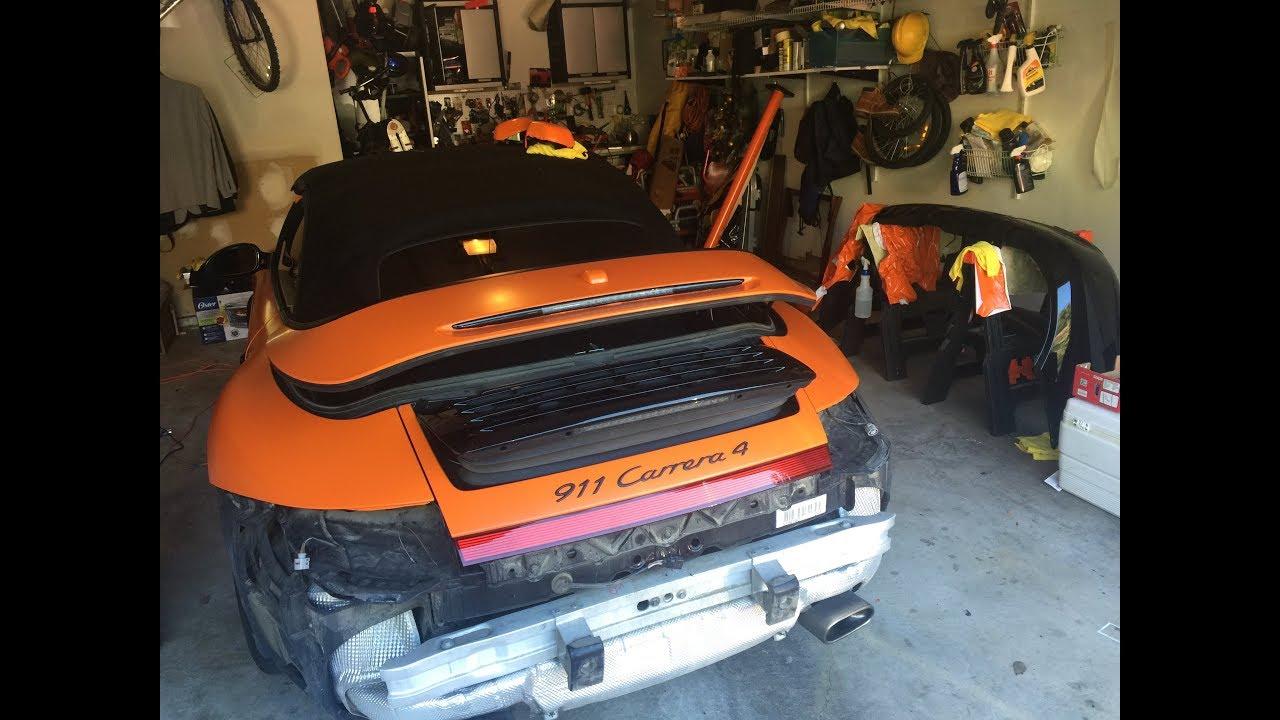 hight resolution of porsche 911 carrera 997 2 bumper removal