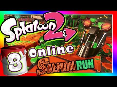 Salmon Run - Die ganze Härte der Selbstständigkeit 🎨 SPLATOON 2 ONLINE Part 8