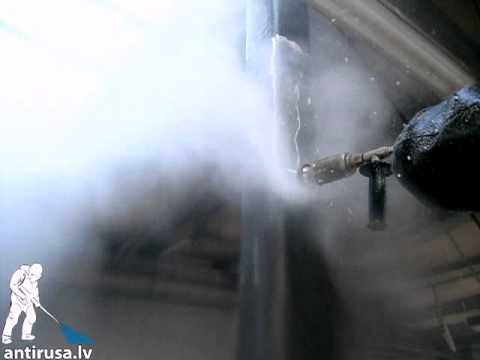 Krāsu Attīrīšana Ar Augstu ūdens Spiedienu (1000 Bar)