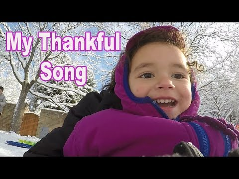 My thankful song (Thanksgiving Song) | Kids Songs |