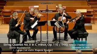 Emerson String Quartet: Shostakovich Quartet No. 8 in C minor, Op. 110