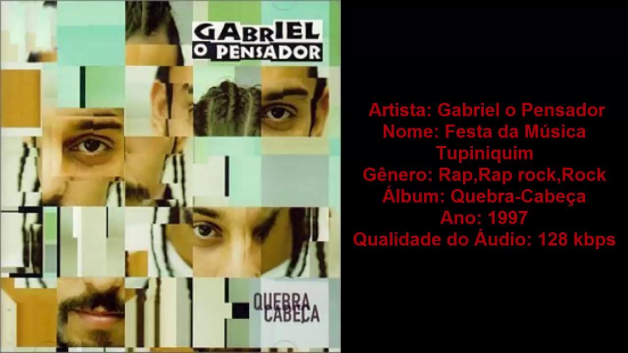 QUEBRA O CABEA GABRIEL PENSADOR BAIXAR