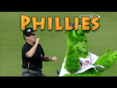 Philadelphia Phillies: Funny Baseball Bloopers