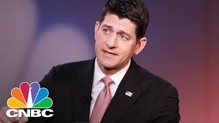 Paul Ryan On First 100 Days Of Donald Trump Presidency (Full Interview)   Squawk Box   CNBC