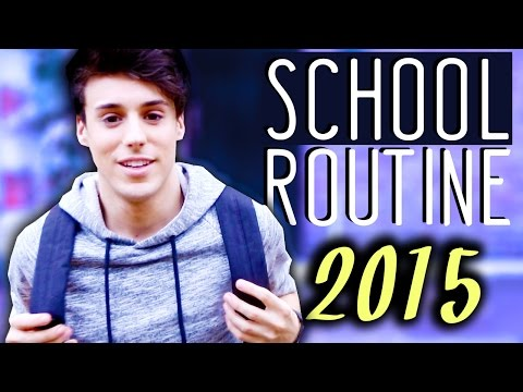 Morning Routine for SCHOOL 2015 + GIVEAWAY | Raphael Gomes