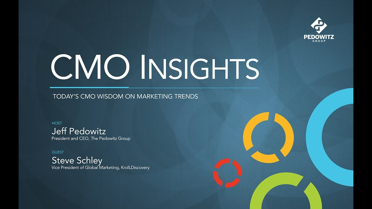 CMO Insights: Steve Schley