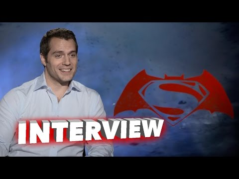 Batman v Superman: Dawn of Justice: Henry Cavill Exclusive Interview