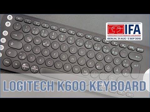 d0baee988ec Logitech K600 Multimedia TV Keyboard - Hands on (english) - YouTube