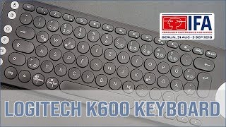 Logitech K600 Multimedia TV Keyboard - Hands on (english)