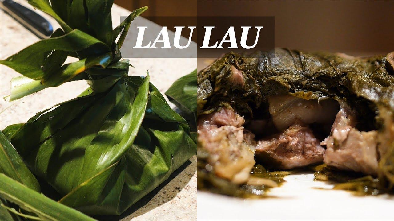 How To Make Traditional Hawaiian Lau Lau Youtube