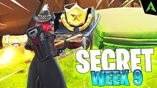 THE GRILL IS * SECRET LOCATION * FOR WEEK 9 IN FORTNITE!