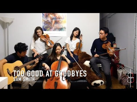 TOO GOOD AT GOODBYES | Sam Smith || JHMJams Cover No.171