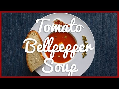 Tomato and Red Bell Pepper Soup Recipe | Healthy Indian Food Recipes | AskMe
