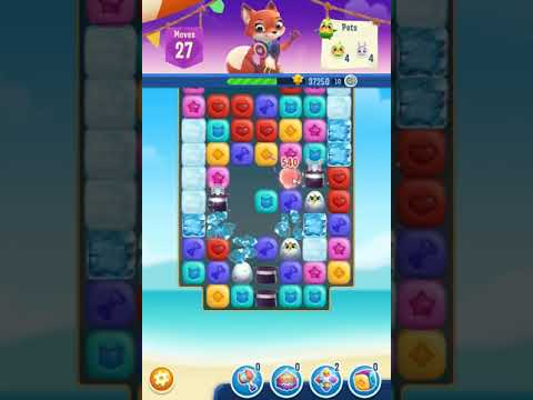 Pet Rescue Puzzle Saga Level 613 No Boosters A S Gaming Youtube