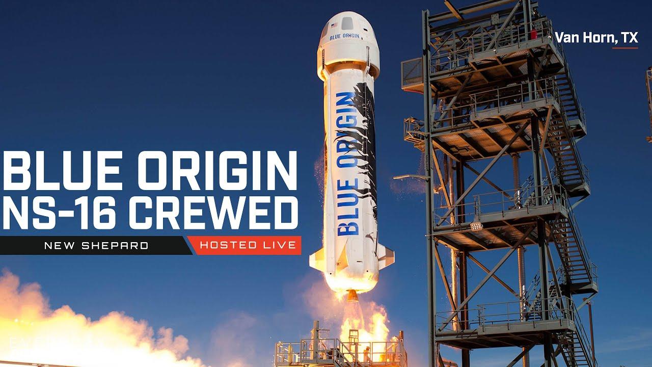 Watch Jeff Bezos go to space on New Shepard!